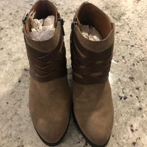 Vince Camuto Brown booties
